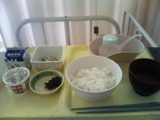 ある日の朝食|岐阜県海津市医師会病院