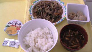 ある日の昼食|岐阜県海津市医師会病院